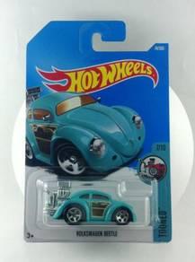 Hotwheels Tooned Volkswagen Beetle #7 Teal