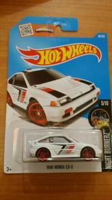 Hot Wheels Honda CRX White