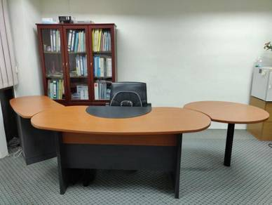 Office table with writing board