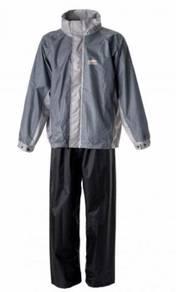 Baju Hujan MHR Rain-Tech Coat 2018 (Blue / Grey)