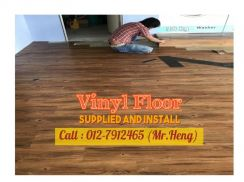 PVC Vinyl Floor - With Install 47ST