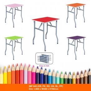Indoor Coloring Folding Kids Table Meja Lipat