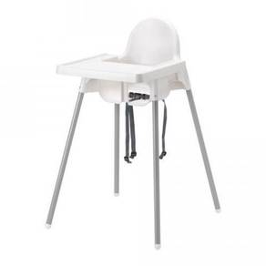 Baby Dining Highchair Steel Support with Tray