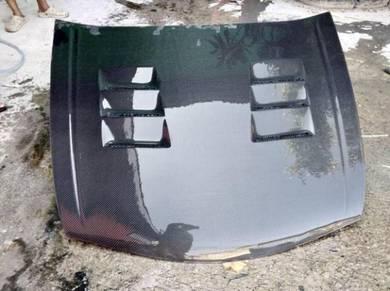 Honda accord 08-12 carbon bonet bonnet hood 1