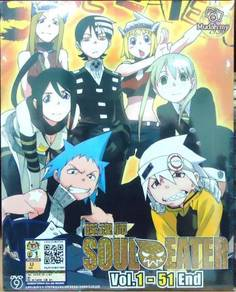 DVD ANIME SOUL EATER Vol.1-51End Complete TV Serie