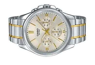 Casio Men ENTICER Watch MTP-1375SG-9AVDF