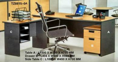 Office Furniture / 3 In 1 Home or Office Table Set