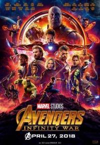 Poster MOVIE Avengers: Infinity War (2018) p 13