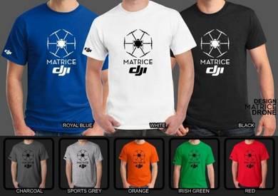 Tshirt Baju DJI MATRICE DJI5 TSV Siap Pos Laju