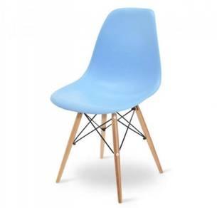 Light Blue Coloured Eames Eiffel Designer Chair