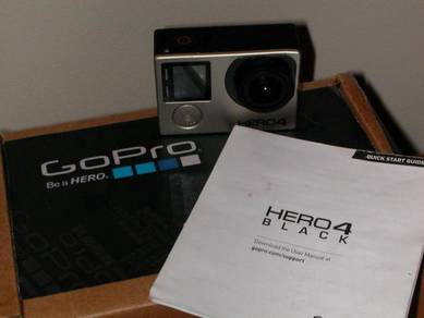 GoPro Hero 4 Black Edition with GoPro Touch Screen