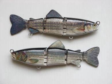 Jointed Bait Fish Fishing Lure Set 3