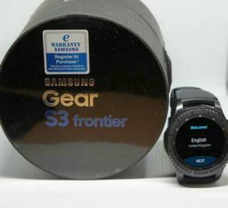 Samsung Gear Frontier S3 Fullbox