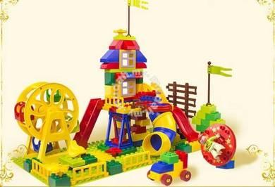 Educational Blocks - Fun Fair Happy Mansion