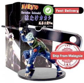 Naruto Kakashi Sasuke PVC Action Figure 15cm