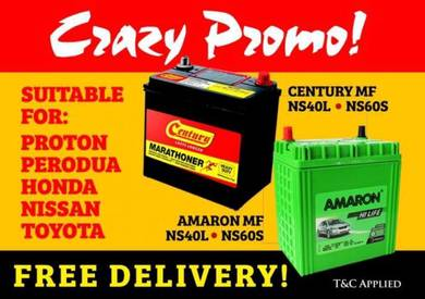 Century car battery Myvi Bezza Aruz Mazda