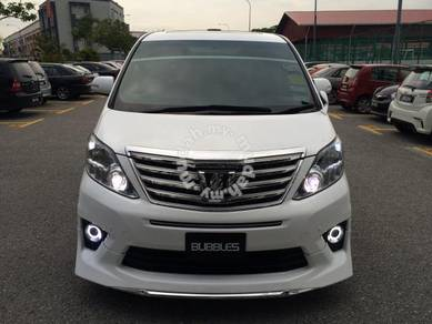 Alphard facelift 2014 s spec conversion set