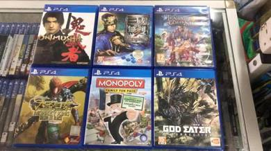 Ps4 used games may