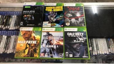 Xbox 360 used games may