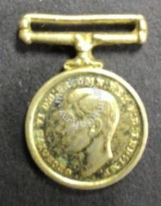 British medal, defense 1945