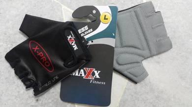 Fitness gym glove maxx fitness x pro