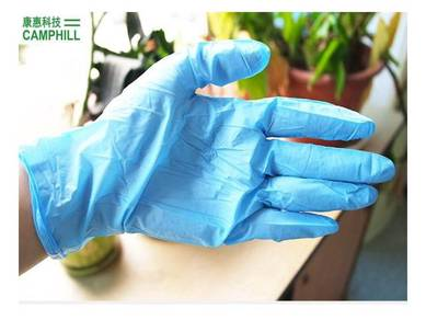 Disposable Powder Free Nitrile Hand Finger Glove