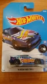 HotWheels '96 Nissan 180SX Type X Team HotWheels