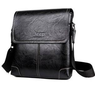 BSJ902 Jeep Business Messenger Sling Bag (Black)