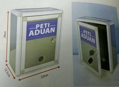 Peti Aduan (Complain Box) - Steel