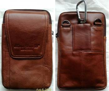 Genuine Leather Shoulder Messenger Bag