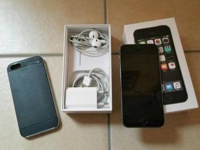 Original iphone 5s 64gb ori myset baru