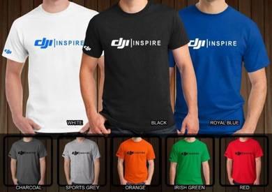 Tshirt Baju DJI INSPIRE DJI2 TSV Siap Pos Laju