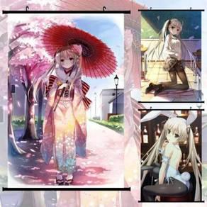 Anime Yosuga no Sora Wallscroll