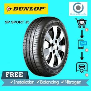 Dunlop SP Sport J5 - 195/60R15 (With Installation)