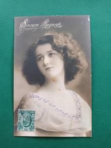 Postcard PENANG 1912 B73