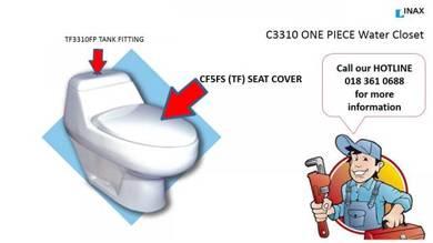 INAX / OFIA C3310 Seat Cover & Tank Fittings