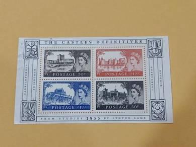 Miniature Sheet The Castles B250