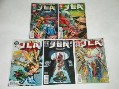 JLA issue 5 - 9. American Dreams. complete set