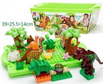 Educational Blocks - Numbering & Dinosaur Paradise