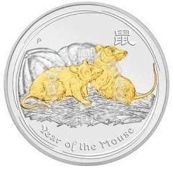 Australian lunar series ii 2008 year of the mouse