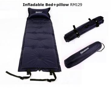 Infladable Bed Pillow Foldable Camping Bed