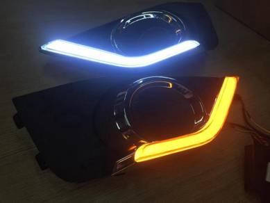 Honda brv fog lamp cover daylight drl
