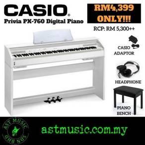 Casio Privia PX760 px-760 Px 760 Digital Piano-WH