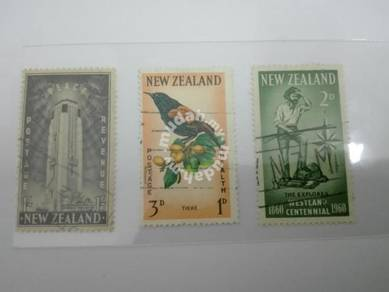 (RB 069) N.Zealand Old Stamps Lot#4-Used