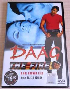 Daag - The Fire Bollywood Hindi Movie DVD