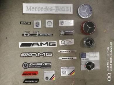 Mercedes benz amg special fender logo emblem