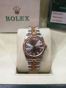 Rolex 78273 with cert
