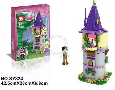 SY324 Princess Rapunzel Building Blocks