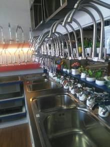Table top tile, paiping sinki,