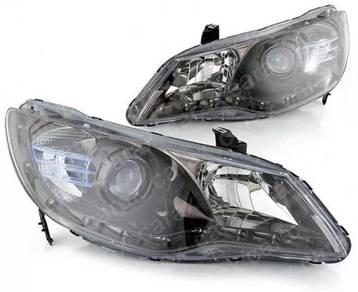 Civic fd led projector headlamp head lamp lights